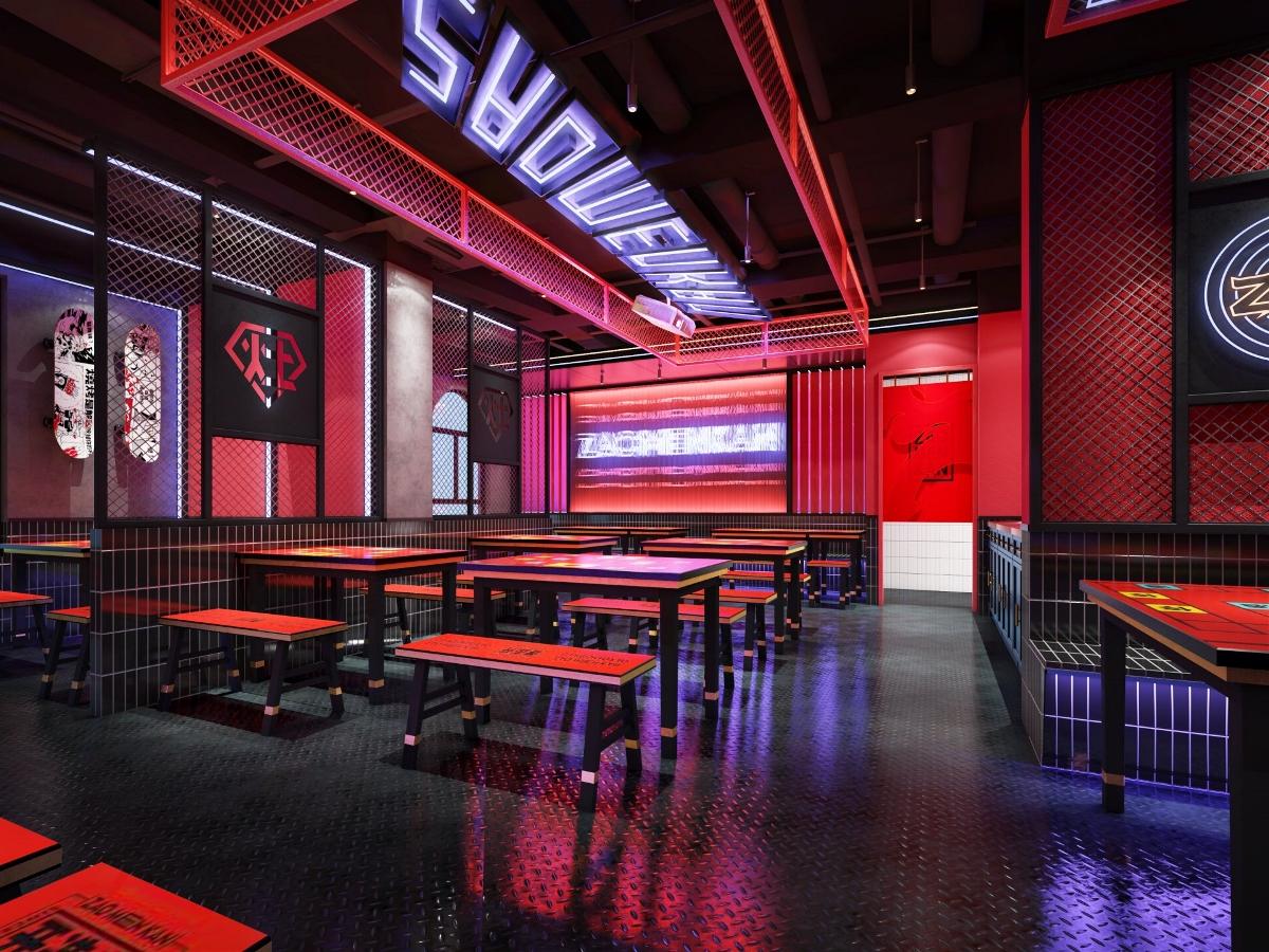 餐饮品牌空间设计|「全新品牌孵化」| 灶门坎卤味烧烤
