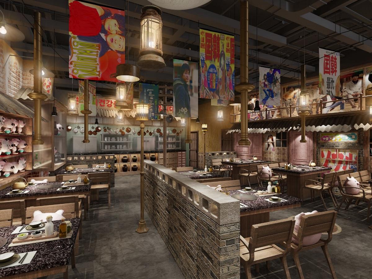 餐饮品牌空间设计|「全新品牌孵化」| 八色烤肉