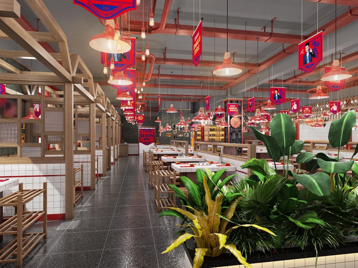 餐饮品牌空间设计 |「原创」| 贤合庄卤味老火锅