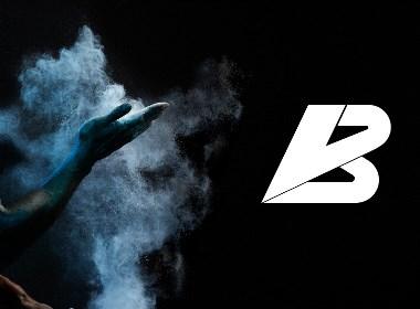 品牌设计案例——BEVE FITNESS健身工作室品牌LOGO设计