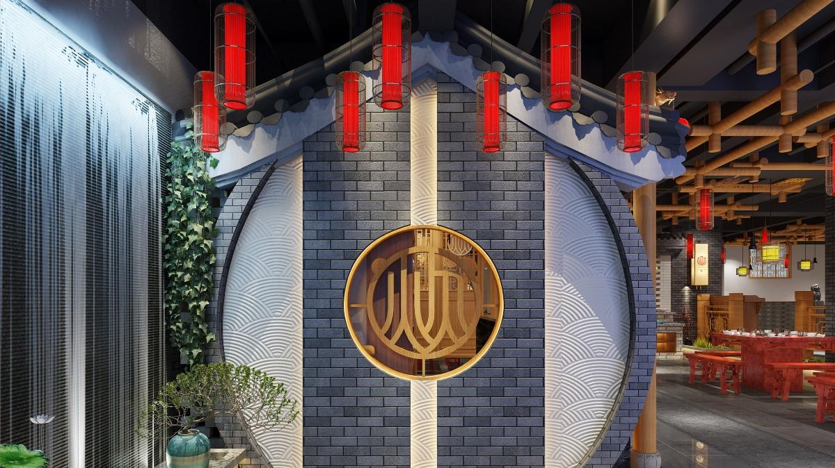餐饮品牌空间设计 | 炊二哥火锅串串