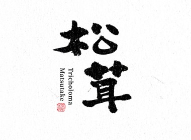 一組手寫漢字|辛未設計