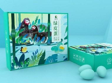 包装设计-绿皮蛋