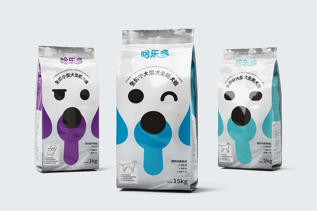 宠物包装这样升级,想不大卖都难—2020全新宠物食品包装升级|厚启@哈乐多