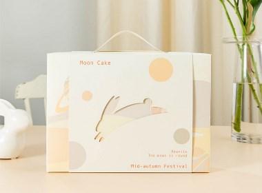 中秋玉兔月饼礼盒
