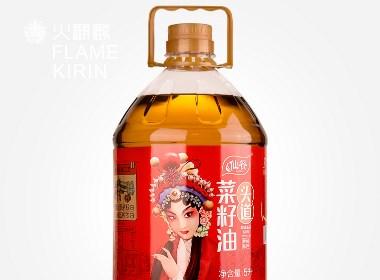 火麒麟作品 丨仙餐×菜籽油×四川風味