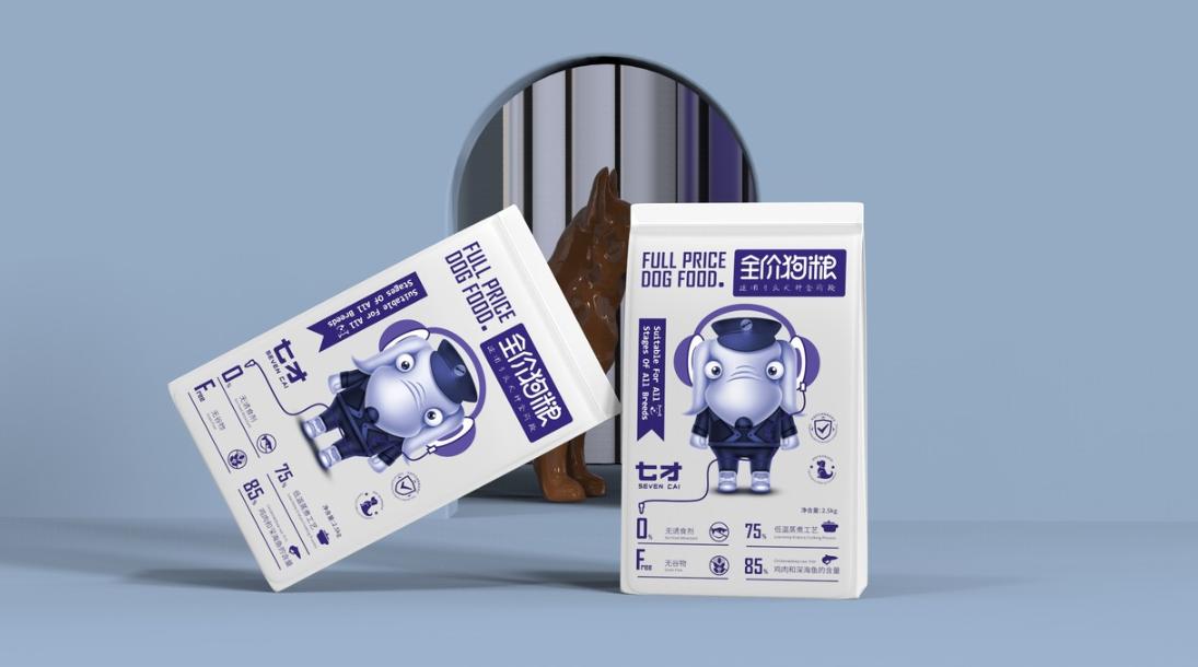 猫粮狗粮包装设计宠物动物粮食包装袋饲料包装设计创意包装设计