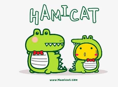 哈咪猫和鳄鱼有个约会