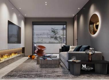 麻吉空间设计|现代风格—广州市海珠区效果图