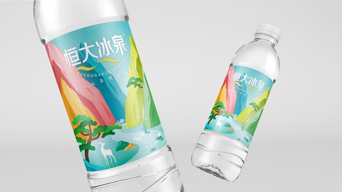 恒大冰泉 × 3721设计 | 一瓶矿泉水带你,领略禅意四季长白山