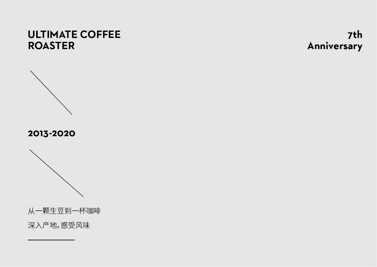 ULTIMATE COFFEE ROASTER | 7周年視覺