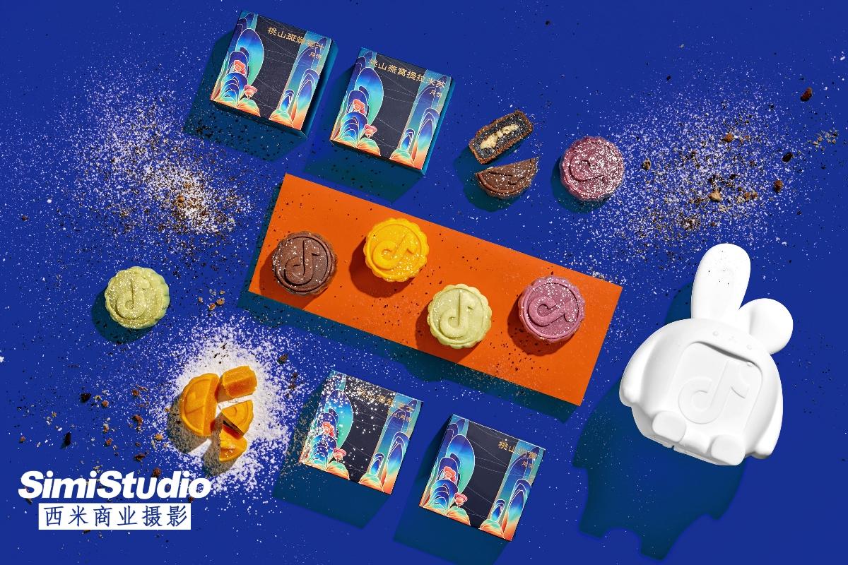 月饼礼盒拍摄 抖音文创 产品摄影 电商摄影 北京西米商业摄影