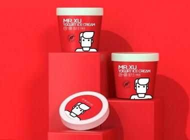 炒酸奶包装设计