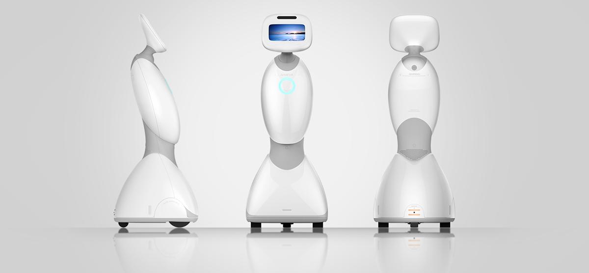 欣奕华智能家庭陪伴机器人