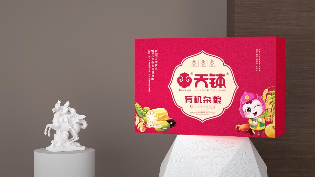 天钵/有机杂粮礼盒包装
