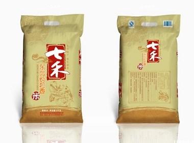 大米包装袋设计