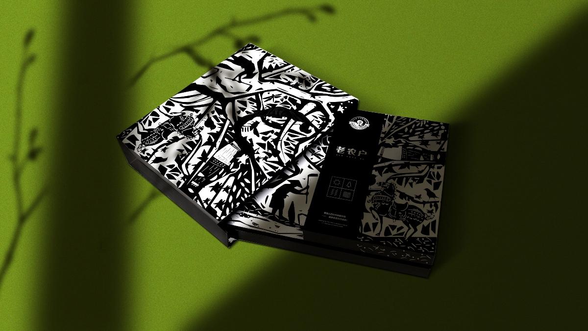 亚麻籽油品牌包装设计(象鸟品牌)