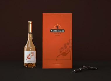 MARY SHELLEY×Hellolink | 葡萄酒全套包装设计