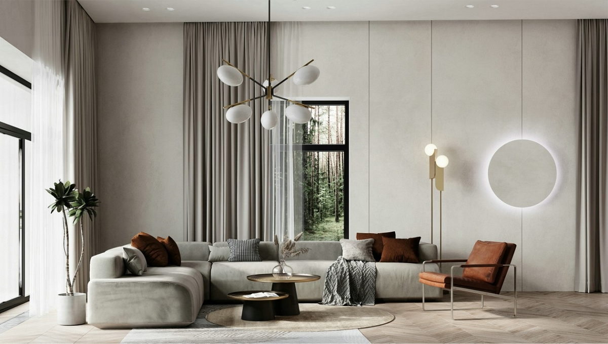 气质优雅的现代居所,精致生活的质感美