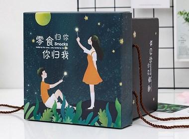 零食礼盒包装设计