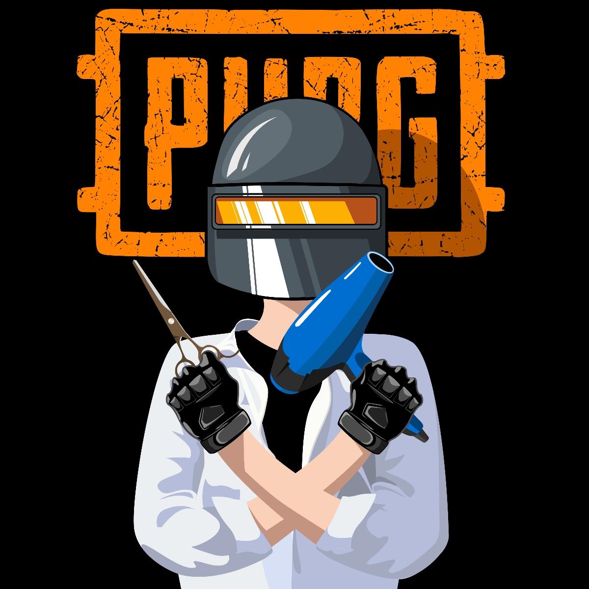 插画设计案例——PUBG电竞主播卡通形象手绘