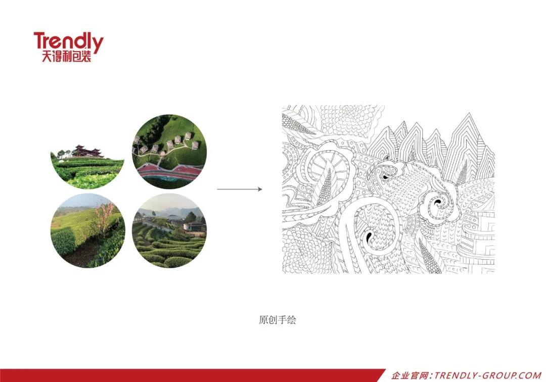 天得利项目案例 | 中茶-金骏眉红茶礼盒包装设计