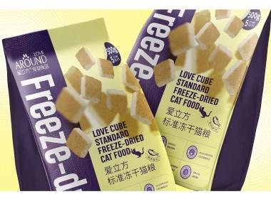 Love Cube Freeze Dried Cat Food