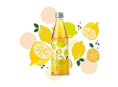 饮料包装设计 柠檬绿茶 香橙绿茶 ©刘益铭 原创作品