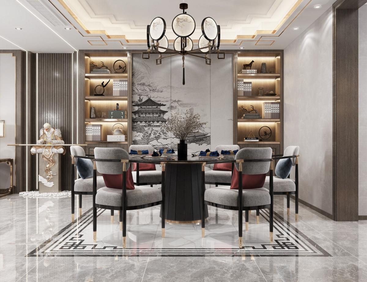 新中式客餐厅