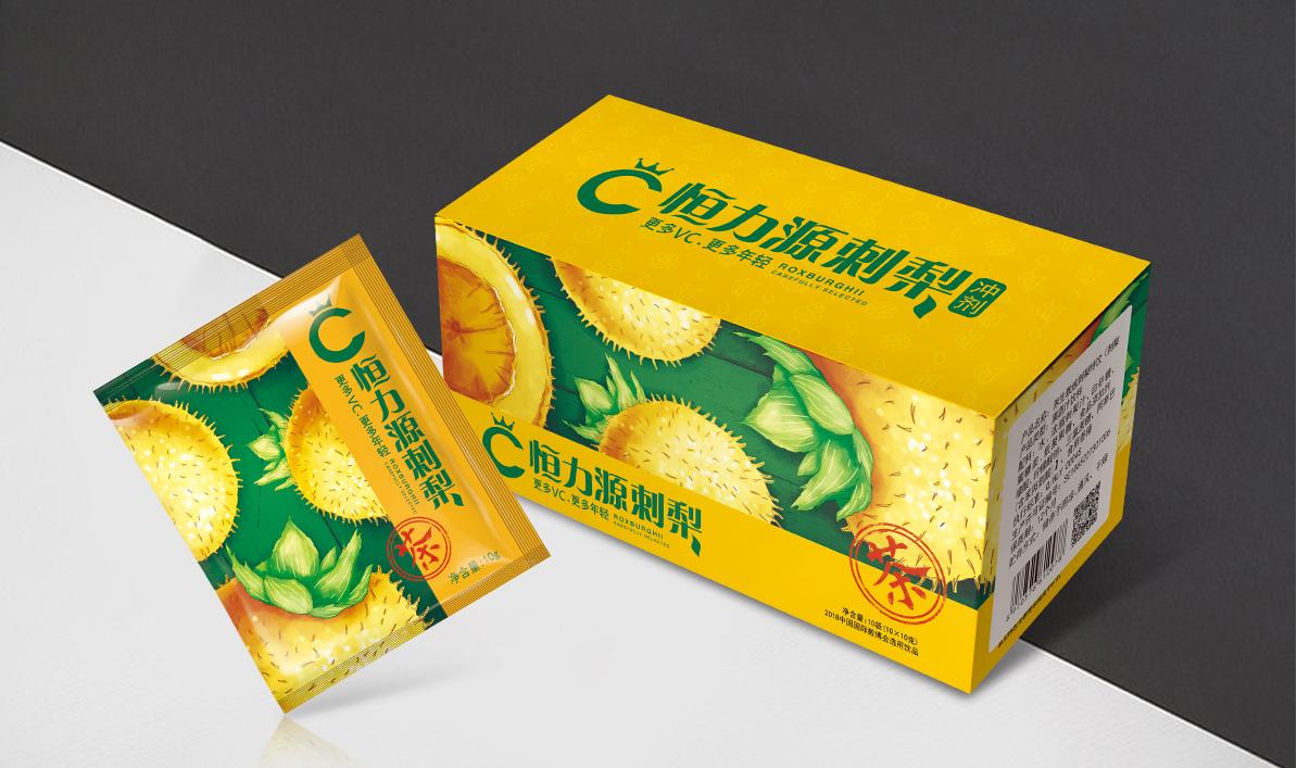 刺梨冲剂包装设计