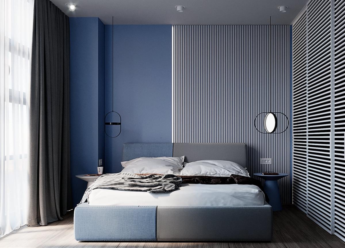 灰蓝色设计,不会过时的静美之选