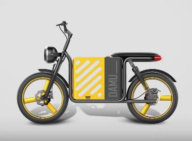 哈士奇设计原创作品 - 共享车