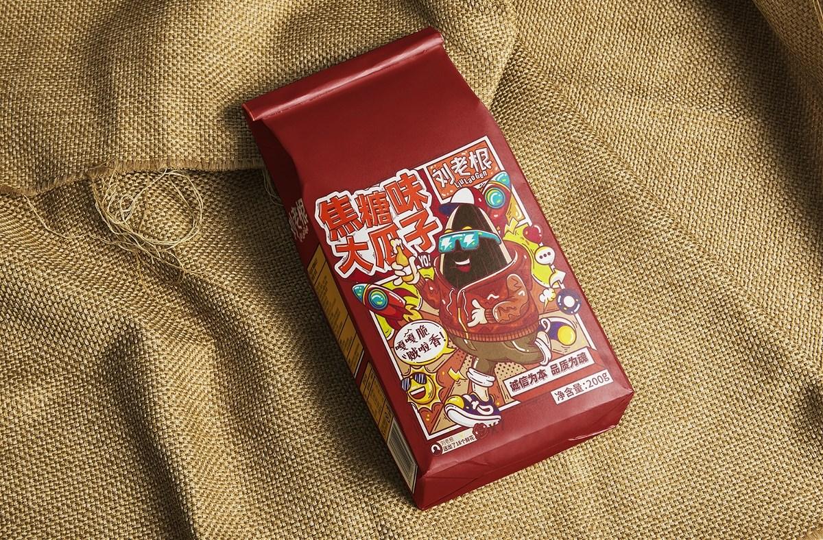 刘老根休闲食品包装设计