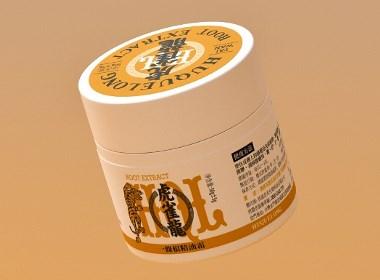 一条根 精油霜-----虎雀龙包装设计