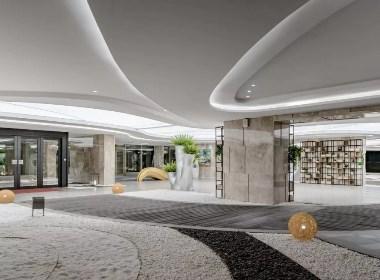 【帝凯室内设计】奥林匹克销售中心(梵高的花园)