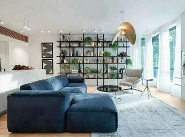 极简风遇上工业元素,让空间更具自然优雅!