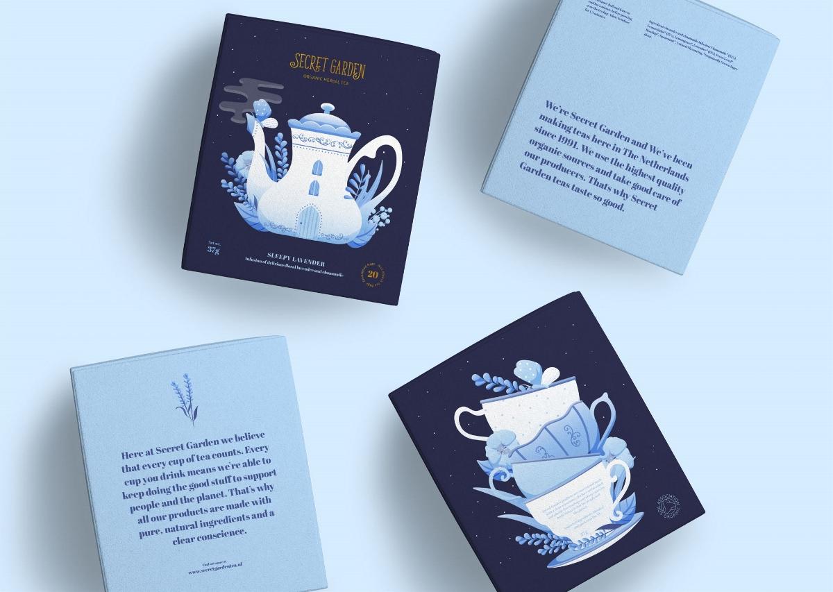 SECRET GARDEN茶叶品牌包装