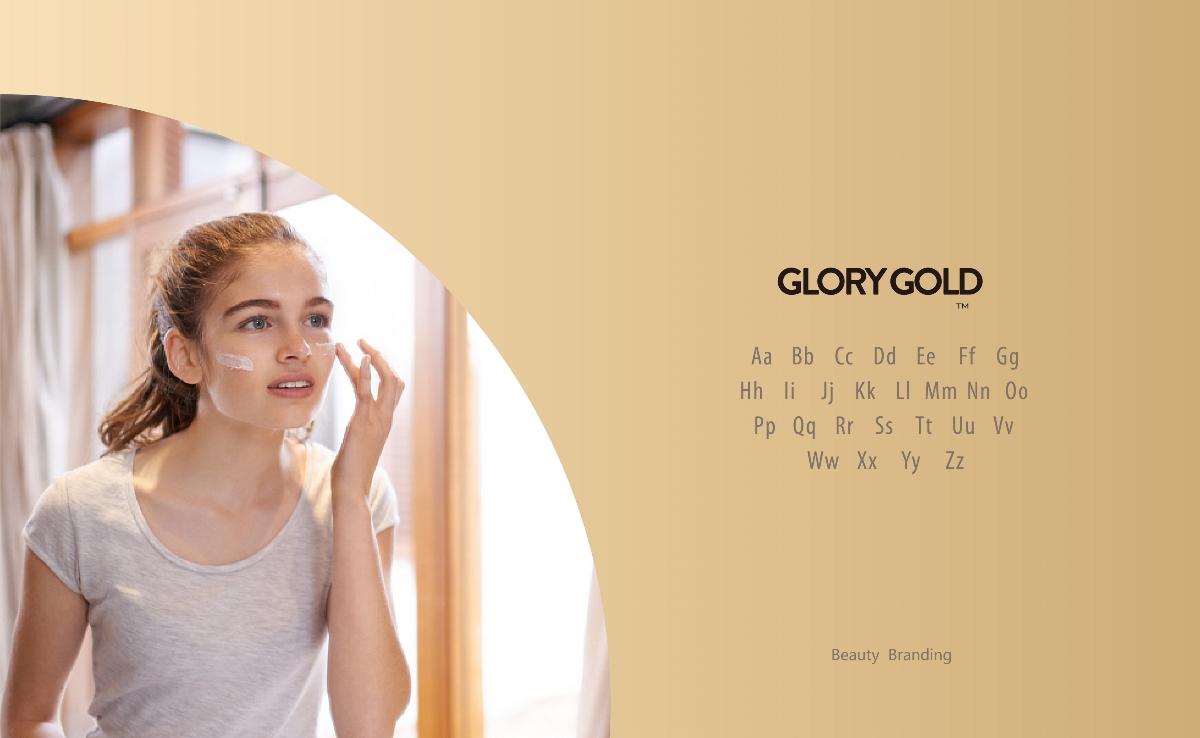 GLORYGOLD高端医疗美容护肤品牌VI提案
