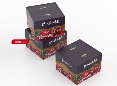水果包装设计———— 苹果礼盒包装设计  护山苹果包装设计