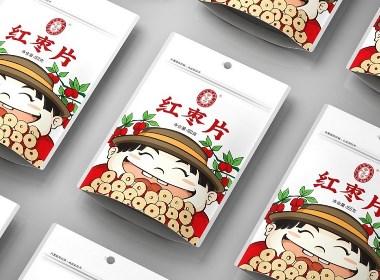 红枣片包装设计