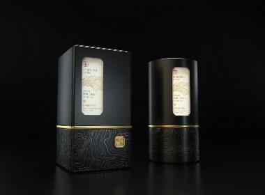 山水峨眉系列茶包装设计