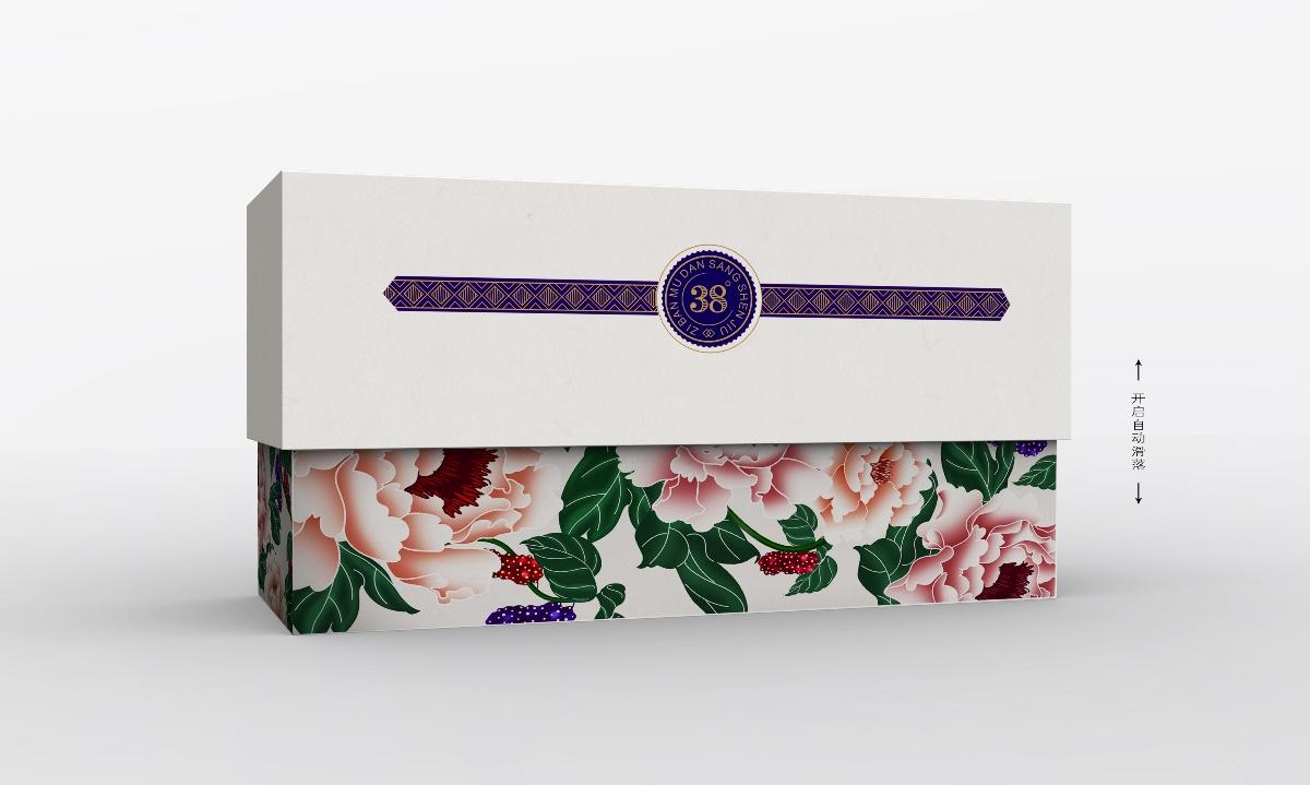 周道创意×紫斑牡丹桑葚酒