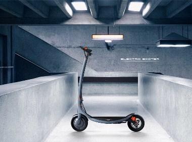 哈士奇设计作品 -  滑板车