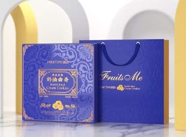 曲奇饼包装 礼盒设计©刘益铭 原创作品