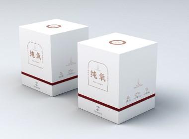 富艾纳 艾氧宝负氧离子产品包装设计