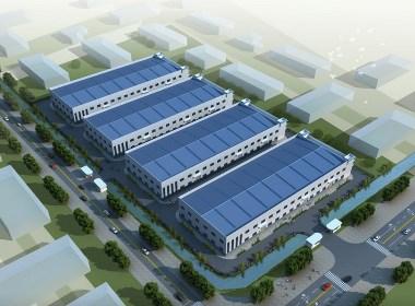 工厂厂房设计案例效果图