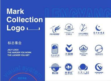 品牌 标志 logo vis系统  色彩运用