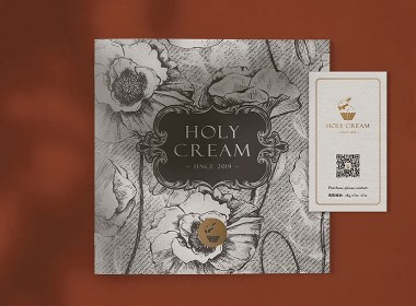 HOLY CREAM   蛋糕烘培品牌设计
