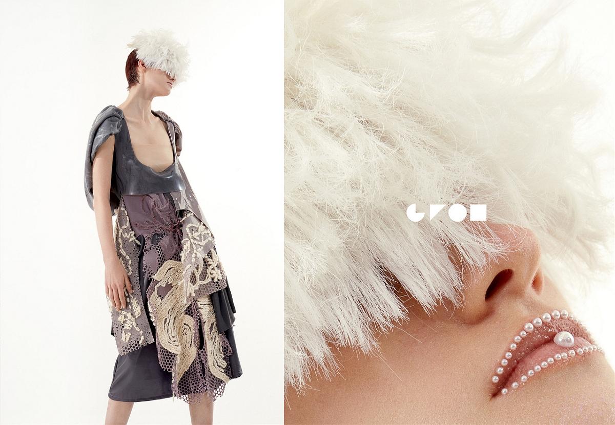 花儿与珍珠丨高恩广告设计师品牌服装拍摄