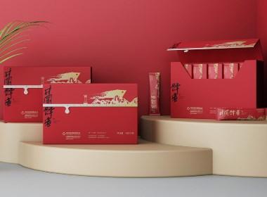 蜂蜜包装设计 蜂蜜礼盒包装设计 井冈蜂蜜包装设计